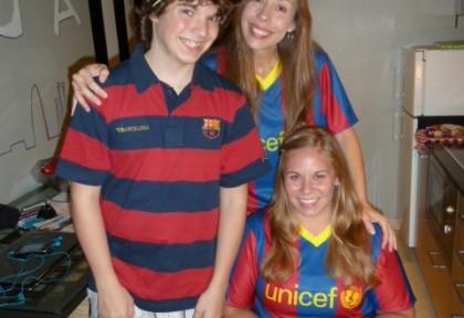 Barcelona shirts
