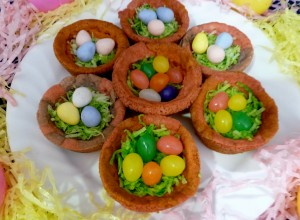 Spring Cookie Nests