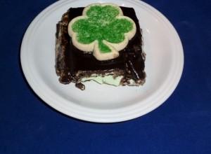 Chocolate Mint Eclairs