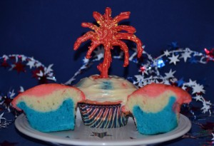Fireworks cupcakes June 2012 062
