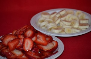 icebox cakes strawberries and bananas