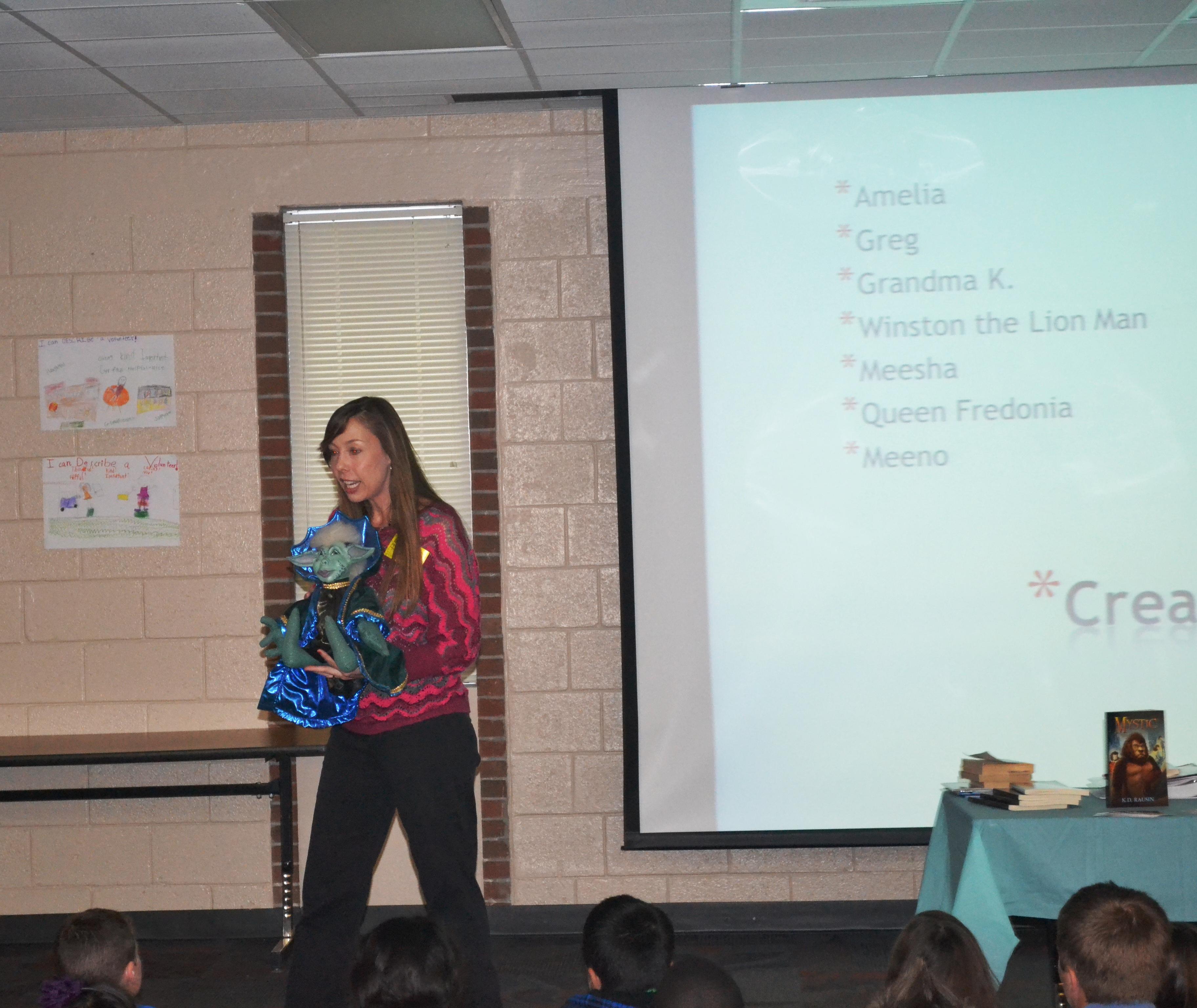 school visit Feb 15 2013