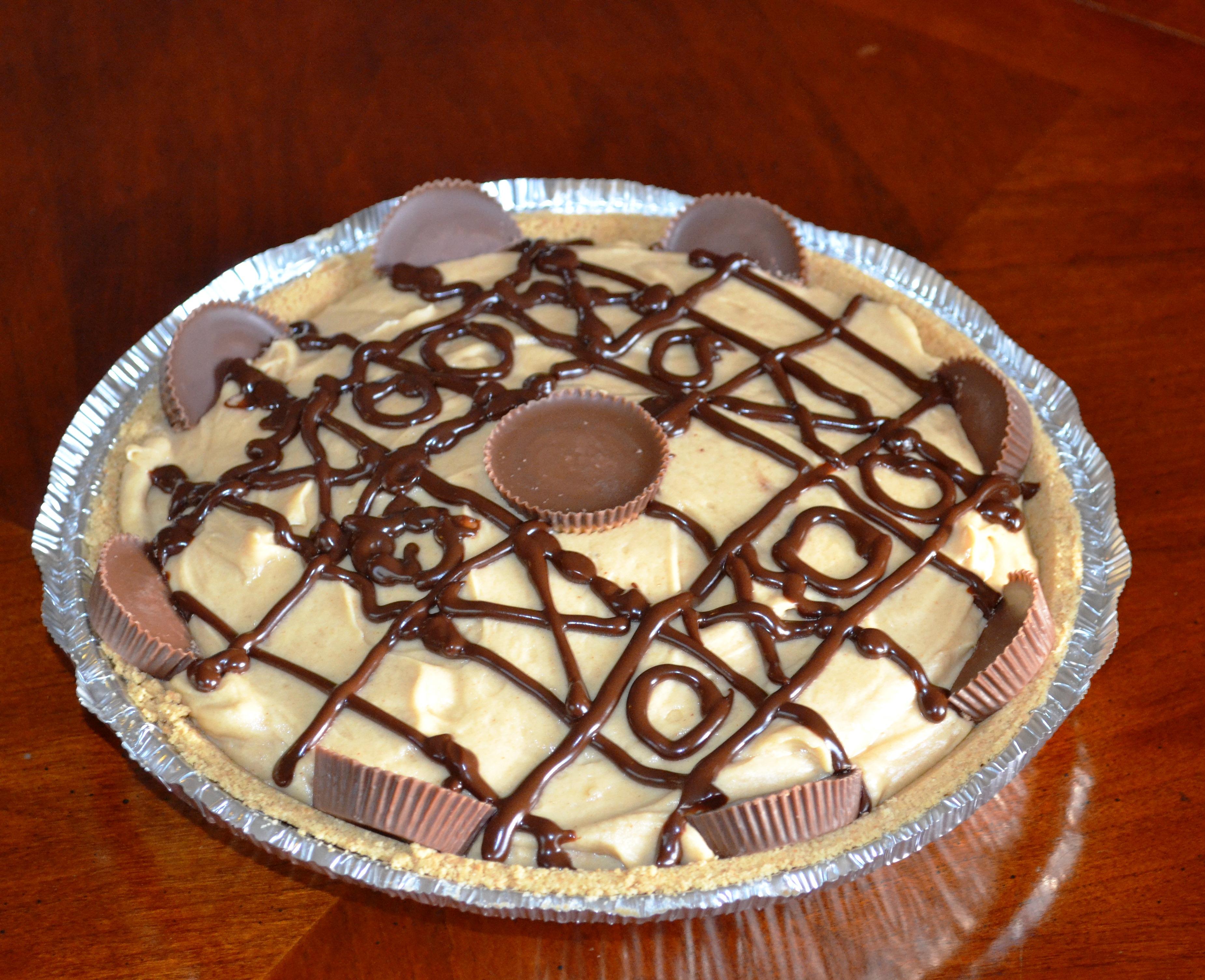 chocolate pb pie complete