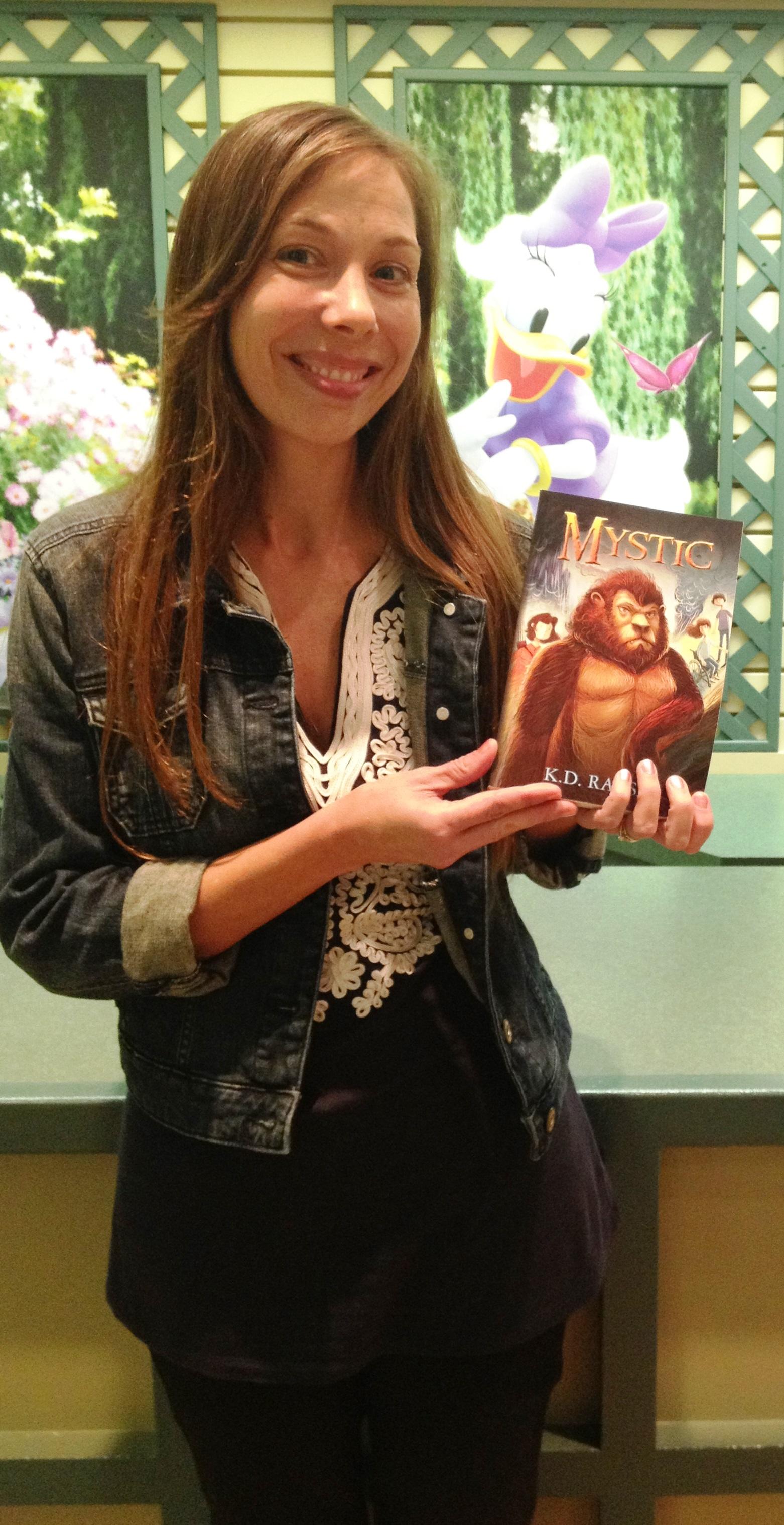Me and MYSTIC at Disney
