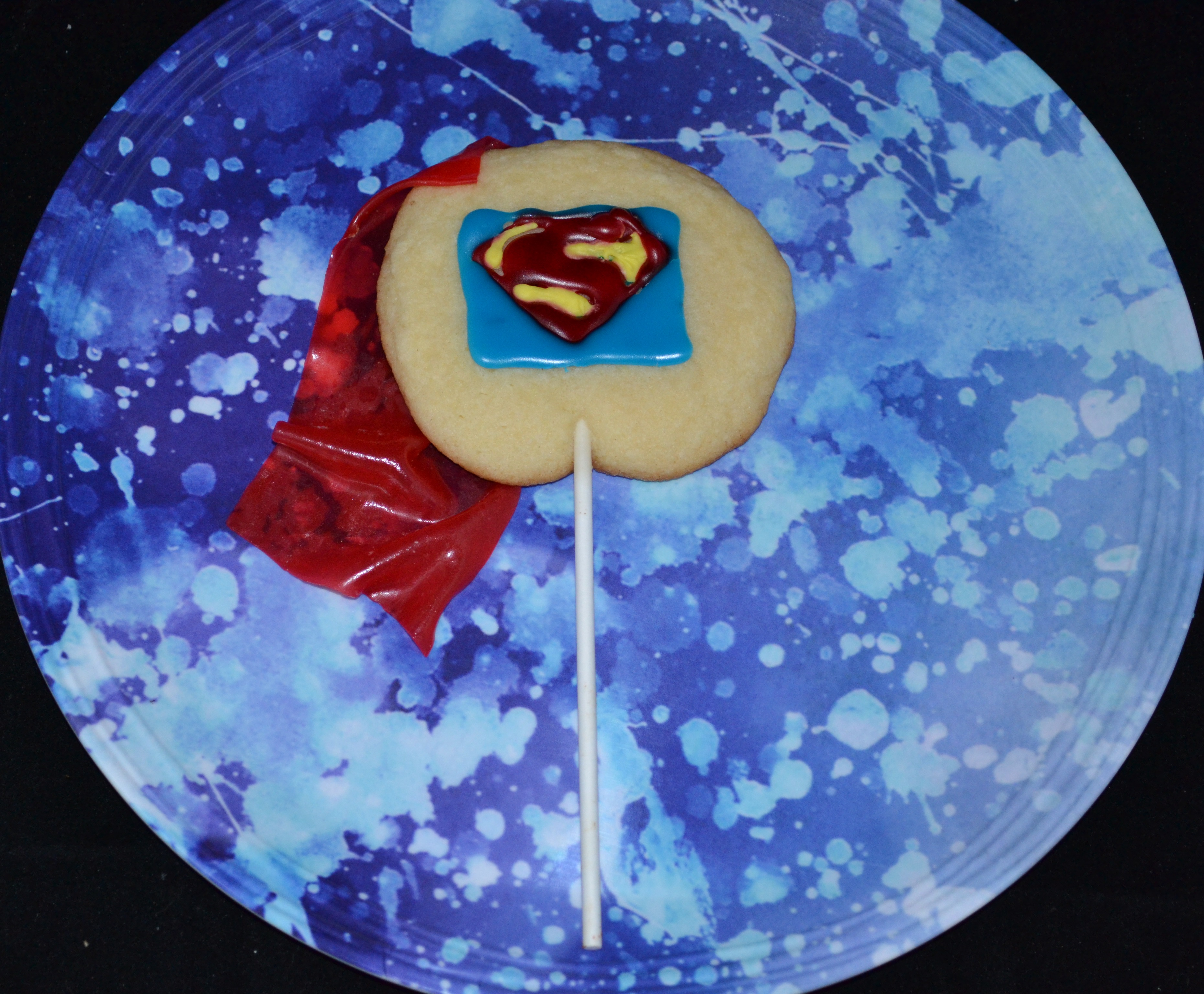 Superman cookie first image