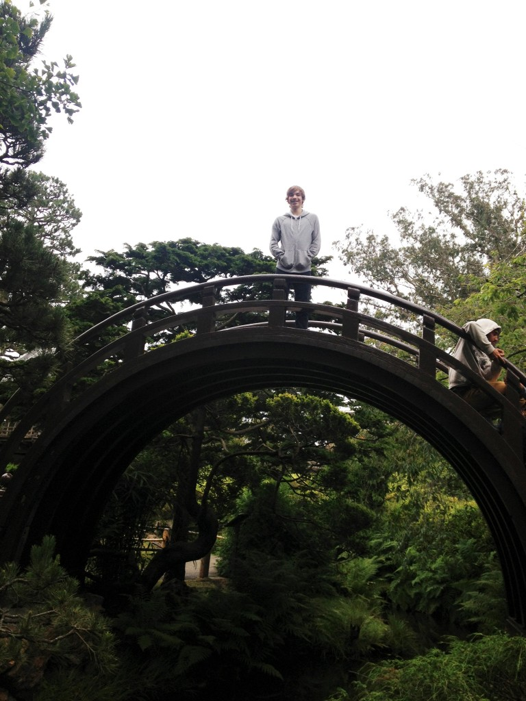 Kai at the Japanese Tea Garden