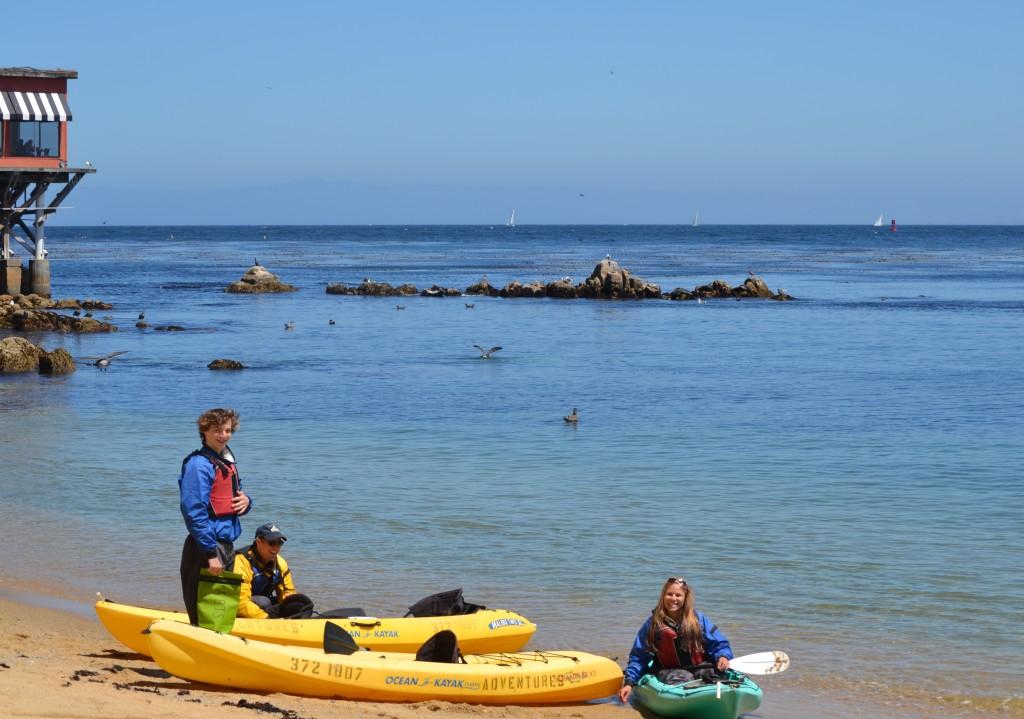 kayak beach shot 2
