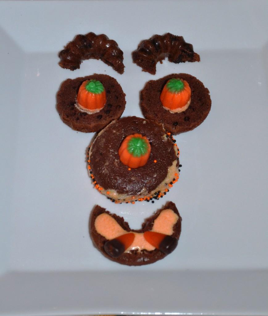 chocolate cake monster