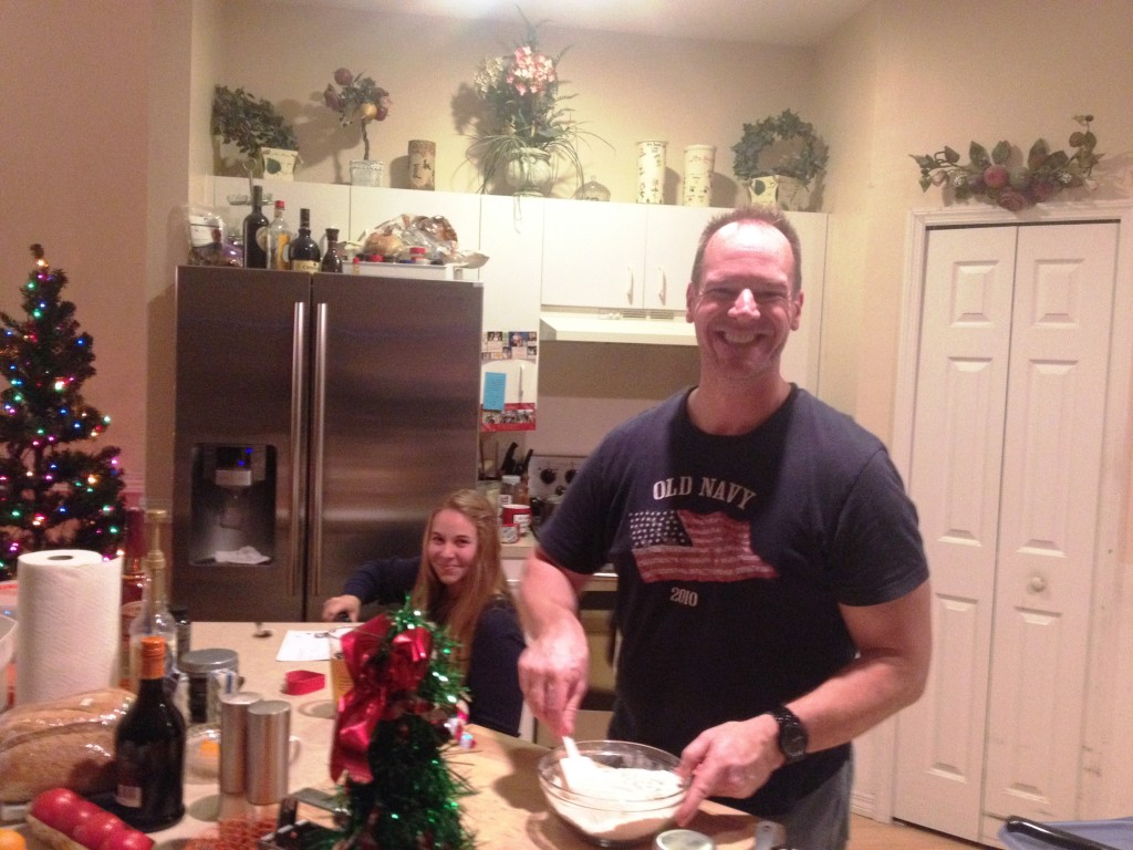 E and E making cookies