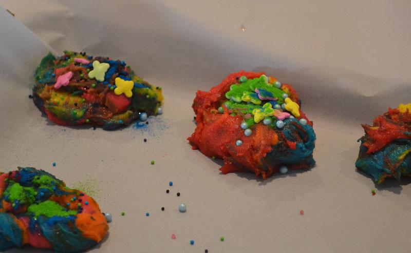 unicorn cookie dough